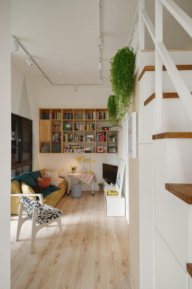 Tân trang lại căn hộ nhỏ chưa đầy 50m², điều tuyệt vời đã xảy ra với cả gia đình - Ảnh 2.
