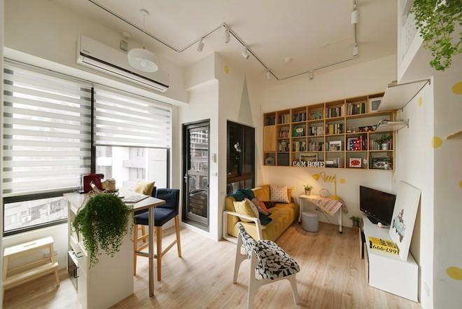 Tân trang lại căn hộ nhỏ chưa đầy 50m², điều tuyệt vời đã xảy ra với cả gia đình - Ảnh 3.