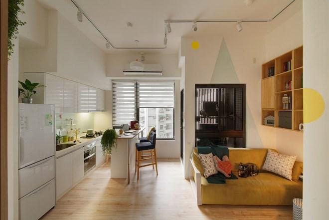 Tân trang lại căn hộ nhỏ chưa đầy 50m², điều tuyệt vời đã xảy ra với cả gia đình - Ảnh 5.