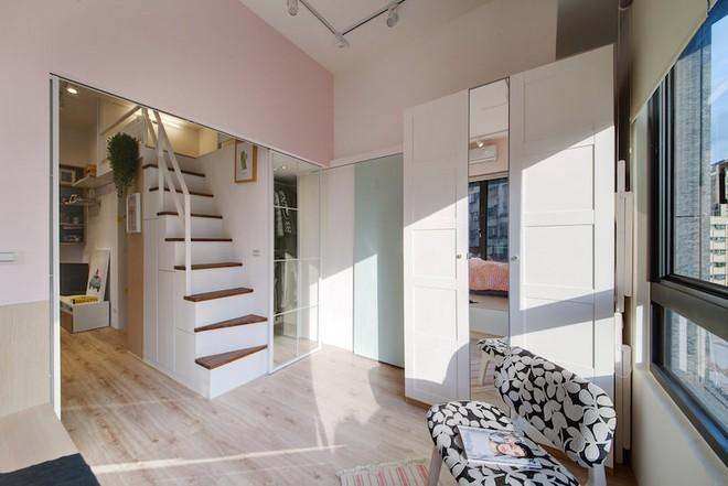 Tân trang lại căn hộ nhỏ chưa đầy 50m², điều tuyệt vời đã xảy ra với cả gia đình - Ảnh 6.