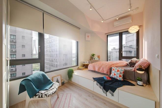 Tân trang lại căn hộ nhỏ chưa đầy 50m², điều tuyệt vời đã xảy ra với cả gia đình - Ảnh 8.