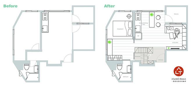 Tân trang lại căn hộ nhỏ chưa đầy 50m², điều tuyệt vời đã xảy ra với cả gia đình - Ảnh 9.