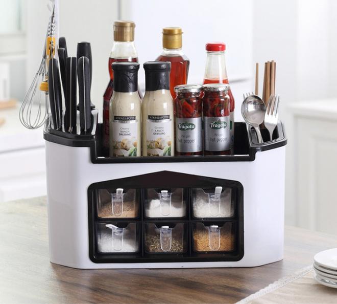 9 mẫu hộp đựng gia vị đa năng cho nhà bếp gọn xinh với giá thành chưa đến 300 nghìn đồng - Ảnh 2.