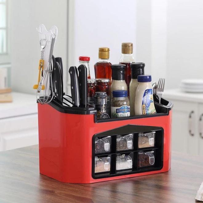 9 mẫu hộp đựng gia vị đa năng cho nhà bếp gọn xinh với giá thành chưa đến 300 nghìn đồng - Ảnh 5.
