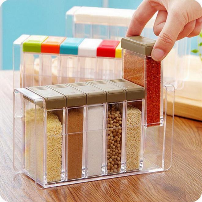 9 mẫu hộp đựng gia vị đa năng cho nhà bếp gọn xinh với giá thành chưa đến 300 nghìn đồng - Ảnh 11.
