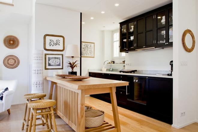 Sử dụng màu đen trong trang trí bếp: Kết quả vừa sạch vừa đẹp đến khó tin - Ảnh 3.