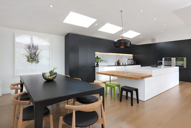 Sử dụng màu đen trong trang trí bếp: Kết quả vừa sạch vừa đẹp đến khó tin - Ảnh 6.