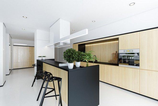 Sử dụng màu đen trong trang trí bếp: Kết quả vừa sạch vừa đẹp đến khó tin - Ảnh 9.