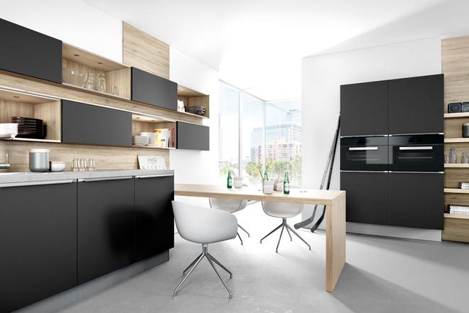 Sử dụng màu đen trong trang trí bếp: Kết quả vừa sạch vừa đẹp đến khó tin - Ảnh 10.