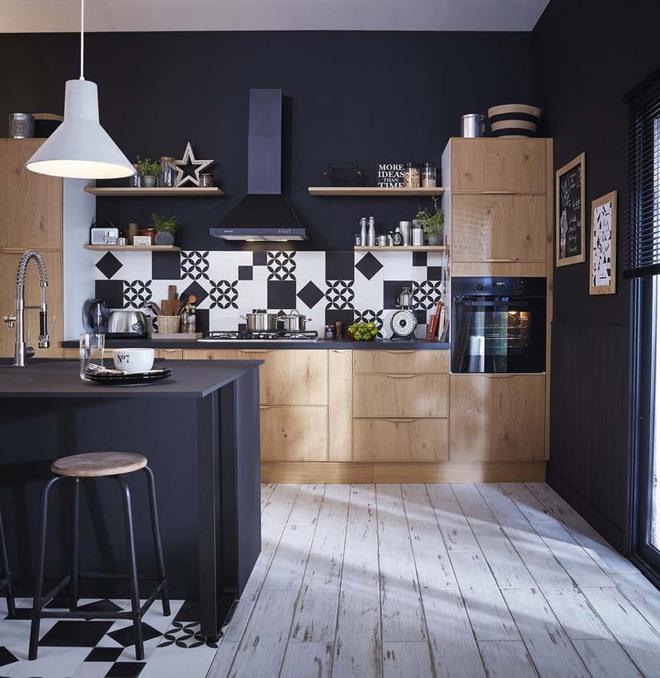 Sử dụng màu đen trong trang trí bếp: Kết quả vừa sạch vừa đẹp đến khó tin - Ảnh 12.