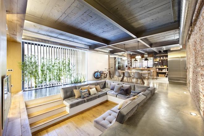 Không gian phòng khách sẽ trở nên cực ấn tượng nếu bạn thiết kế theo phong cách độc đáo này - Ảnh 1.