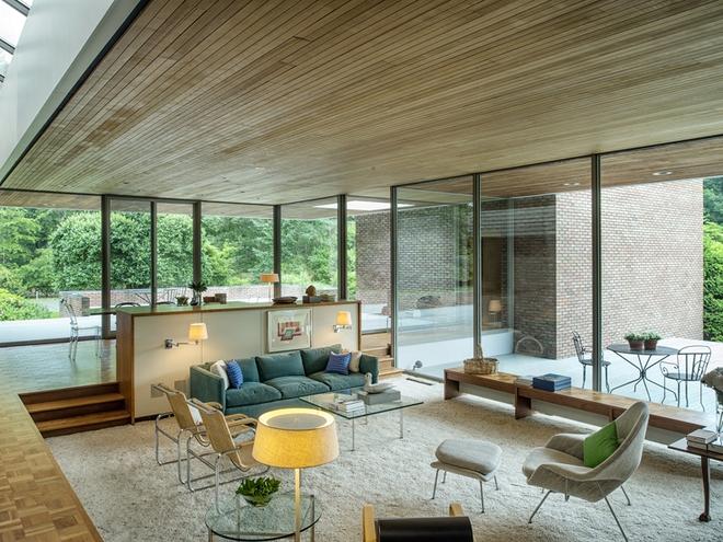 Không gian phòng khách sẽ trở nên cực ấn tượng nếu bạn thiết kế theo phong cách độc đáo này - Ảnh 2.