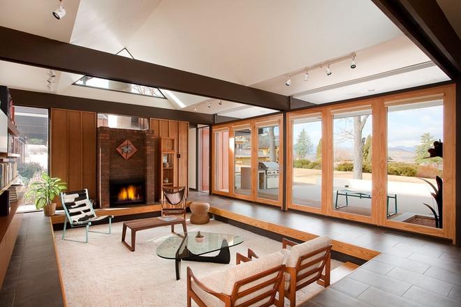 Không gian phòng khách sẽ trở nên cực ấn tượng nếu bạn thiết kế theo phong cách độc đáo này - Ảnh 3.