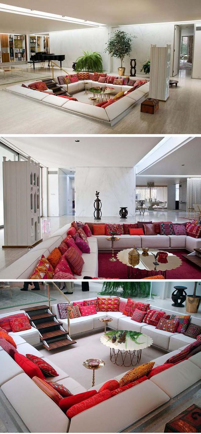 Không gian phòng khách sẽ trở nên cực ấn tượng nếu bạn thiết kế theo phong cách độc đáo này - Ảnh 4.