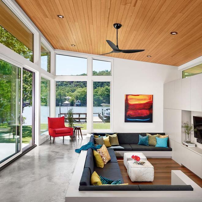 Không gian phòng khách sẽ trở nên cực ấn tượng nếu bạn thiết kế theo phong cách độc đáo này - Ảnh 5.