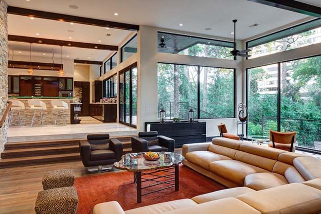 Không gian phòng khách sẽ trở nên cực ấn tượng nếu bạn thiết kế theo phong cách độc đáo này - Ảnh 7.