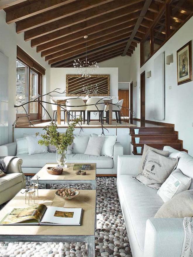 Không gian phòng khách sẽ trở nên cực ấn tượng nếu bạn thiết kế theo phong cách độc đáo này - Ảnh 10.