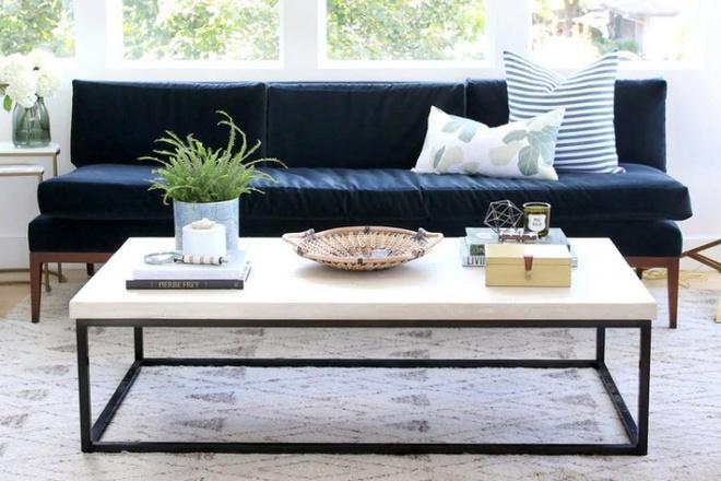 Những kiểu bàn cà phê lạ mắt điểm tô nét độc đáo cho phòng khách - Ảnh 2.