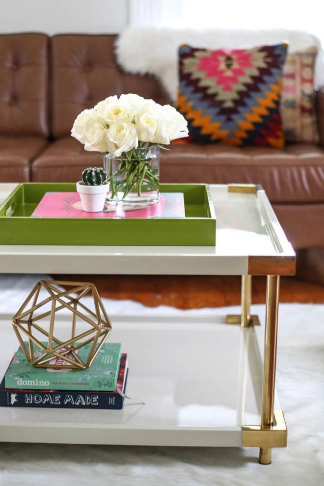 Những kiểu bàn cà phê lạ mắt điểm tô nét độc đáo cho phòng khách - Ảnh 4.