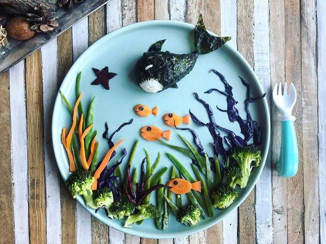 Mẹ Việt ở Pháp chia sẻ kinh nghiệm trang trí bữa ăn cho con chẳng khác gì những tác phẩm nghệ thuật đỉnh cao - Ảnh 4.