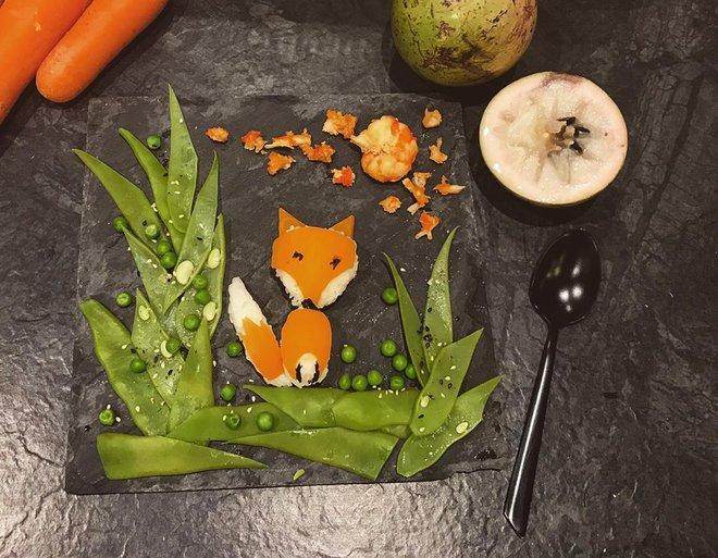 Mẹ Việt ở Pháp trang trí bữa ăn cho con chẳng khác gì những tác phẩm nghệ thuật đỉnh cao - Ảnh 8.