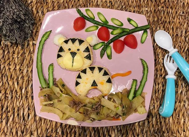 Mẹ Việt ở Pháp chia sẻ kinh nghiệm trang trí bữa ăn cho con chẳng khác gì những tác phẩm nghệ thuật đỉnh cao - Ảnh 9.