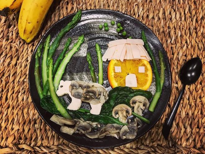 Mẹ Việt ở Pháp trang trí bữa ăn cho con chẳng khác gì những tác phẩm nghệ thuật đỉnh cao - Ảnh 10.