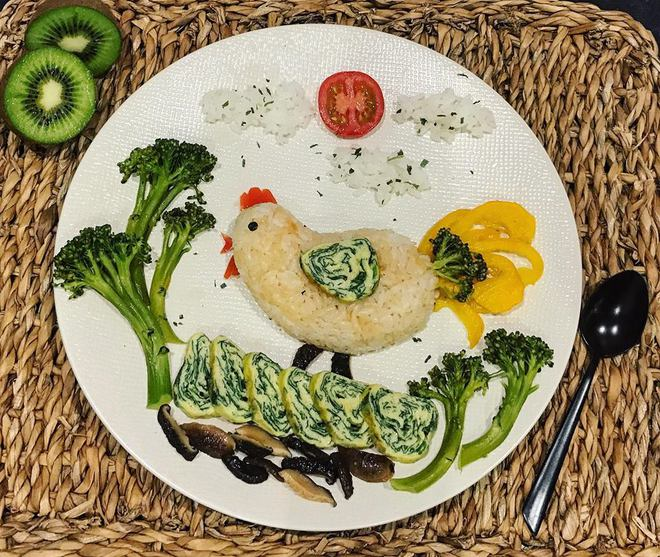 Mẹ Việt ở Pháp chia sẻ kinh nghiệm trang trí bữa ăn cho con chẳng khác gì những tác phẩm nghệ thuật đỉnh cao - Ảnh 13.
