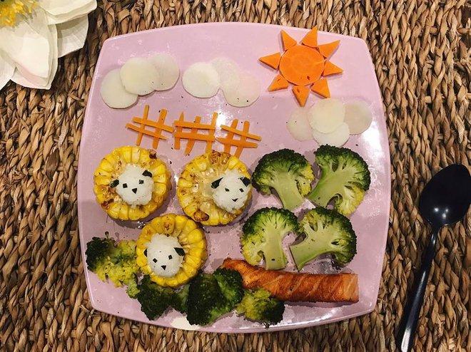 Mẹ Việt ở Pháp chia sẻ kinh nghiệm trang trí bữa ăn cho con chẳng khác gì những tác phẩm nghệ thuật đỉnh cao - Ảnh 18.