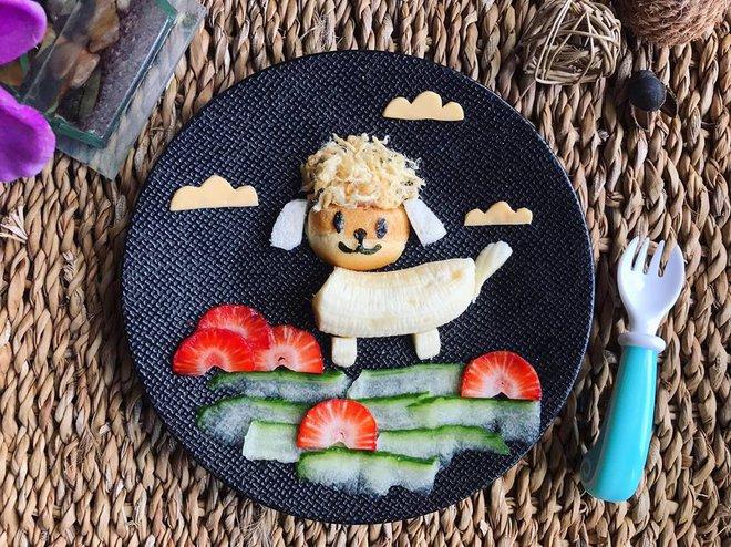 Mẹ Việt ở Pháp chia sẻ kinh nghiệm trang trí bữa ăn cho con chẳng khác gì những tác phẩm nghệ thuật đỉnh cao - Ảnh 19.