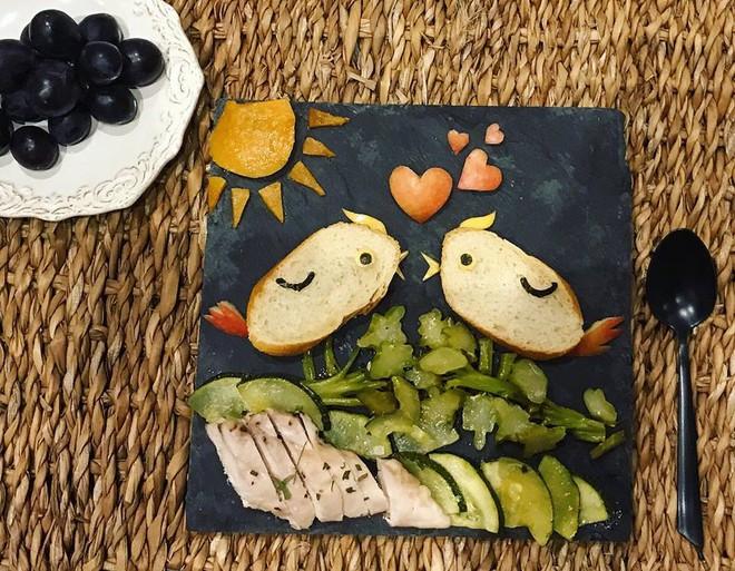 Mẹ Việt ở Pháp chia sẻ kinh nghiệm trang trí bữa ăn cho con chẳng khác gì những tác phẩm nghệ thuật đỉnh cao - Ảnh 23.
