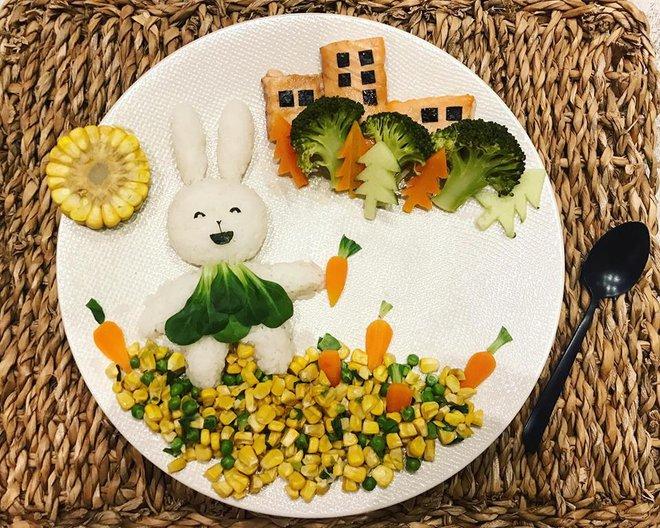 Mẹ Việt ở Pháp chia sẻ kinh nghiệm trang trí bữa ăn cho con chẳng khác gì những tác phẩm nghệ thuật đỉnh cao - Ảnh 26.