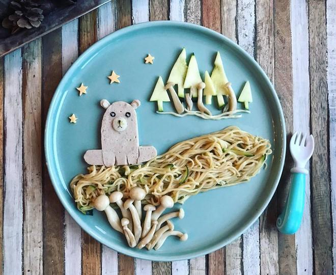Mẹ Việt ở Pháp chia sẻ kinh nghiệm trang trí bữa ăn cho con chẳng khác gì những tác phẩm nghệ thuật đỉnh cao - Ảnh 28.