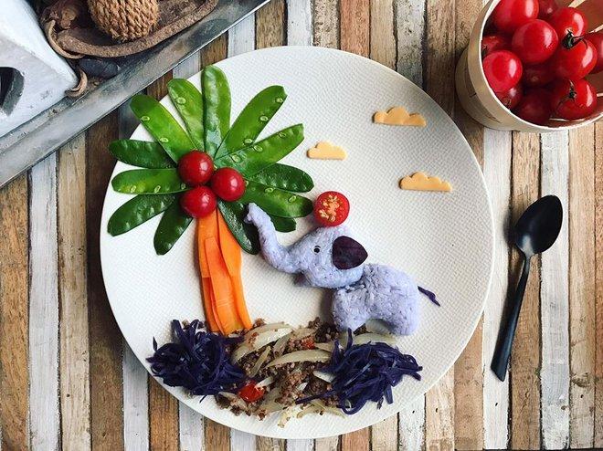 Mẹ Việt ở Pháp chia sẻ kinh nghiệm trang trí bữa ăn cho con chẳng khác gì những tác phẩm nghệ thuật đỉnh cao - Ảnh 31.