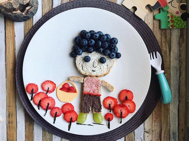 Mẹ Việt ở Pháp chia sẻ kinh nghiệm trang trí bữa ăn cho con chẳng khác gì những tác phẩm nghệ thuật đỉnh cao - Ảnh 33.
