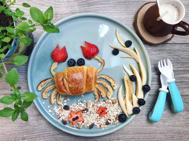Mẹ Việt ở Pháp chia sẻ kinh nghiệm trang trí bữa ăn cho con chẳng khác gì những tác phẩm nghệ thuật đỉnh cao - Ảnh 34.
