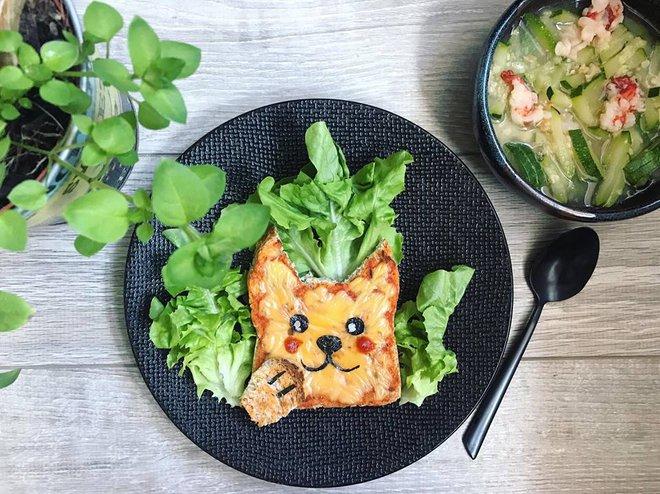 Mẹ Việt ở Pháp trang trí bữa ăn cho con chẳng khác gì những tác phẩm nghệ thuật đỉnh cao - Ảnh 36.