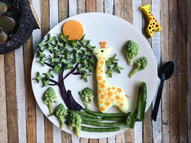 Mẹ Việt ở Pháp trang trí bữa ăn cho con chẳng khác gì những tác phẩm nghệ thuật đỉnh cao - Ảnh 39.