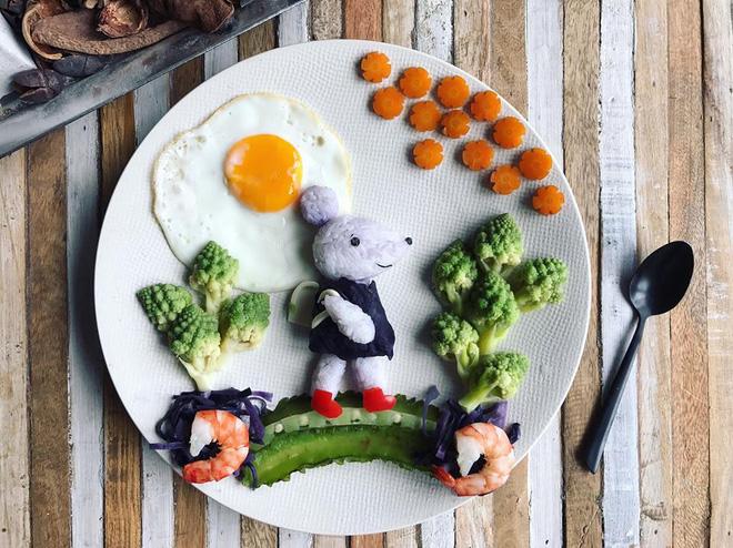 Mẹ Việt ở Pháp chia sẻ kinh nghiệm trang trí bữa ăn cho con chẳng khác gì những tác phẩm nghệ thuật đỉnh cao - Ảnh 42.