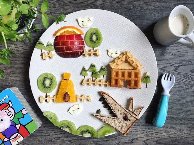 Mẹ Việt ở Pháp chia sẻ kinh nghiệm trang trí bữa ăn cho con chẳng khác gì những tác phẩm nghệ thuật đỉnh cao - Ảnh 45.