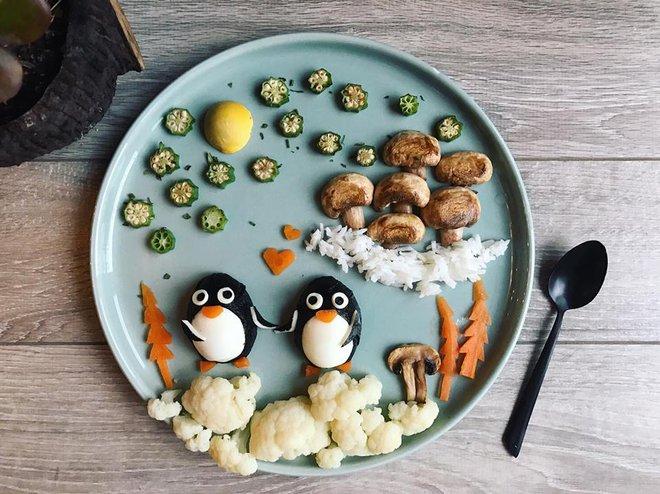 Mẹ Việt ở Pháp chia sẻ kinh nghiệm trang trí bữa ăn cho con chẳng khác gì những tác phẩm nghệ thuật đỉnh cao - Ảnh 47.