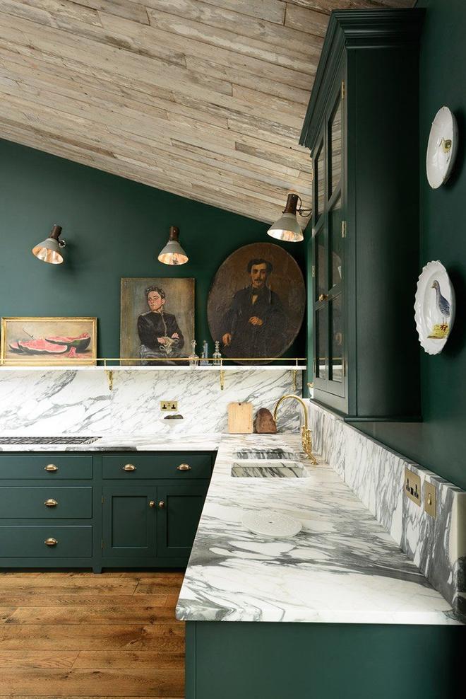 Giữa muôn vàn chất liệu khác nhau thì đá cẩm thạch vẫn luôn là lựa chọn hàng đầu cho mặt bàn bếp - Ảnh 11.