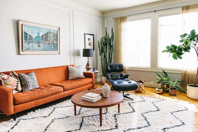 Ngây ngất trước vẻ đẹp của những phòng khách mang phong cách midcentury hiện đại nhưng vô cùng ấm cúng - Ảnh 8.