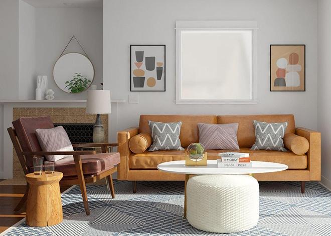 Ngây ngất trước vẻ đẹp của những phòng khách mang phong cách midcentury hiện đại nhưng vô cùng ấm cúng - Ảnh 13.