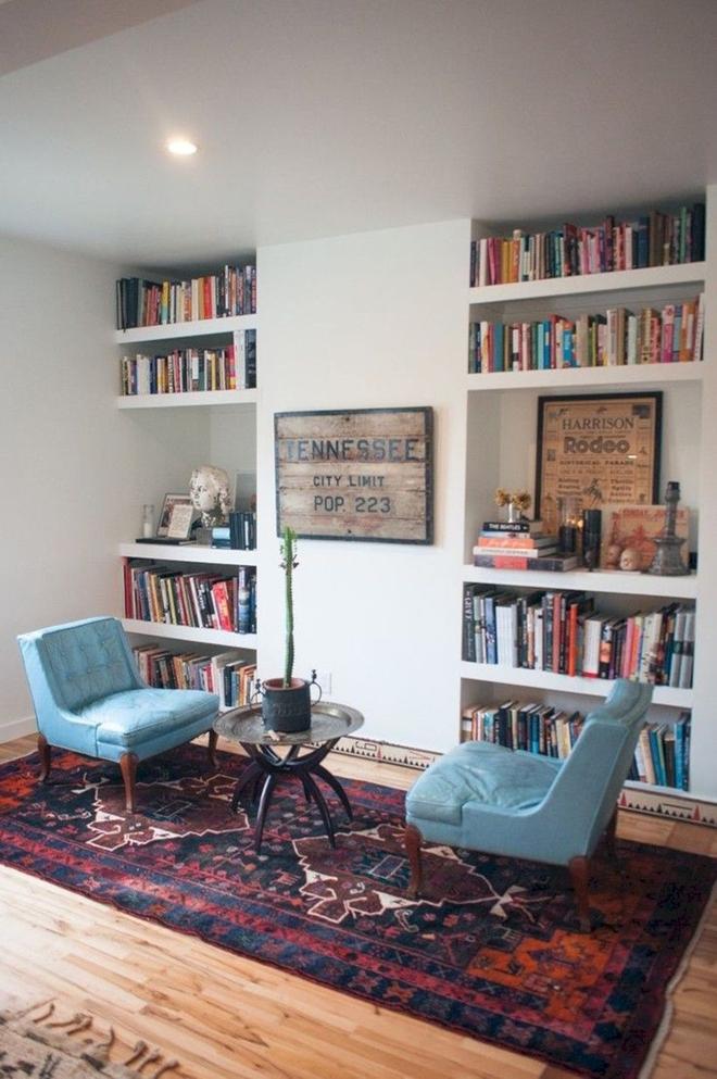 Mục sở thị căn phòng khách của những mọt sách chân chính xem có gì lạ, có gì hay - Ảnh 9.