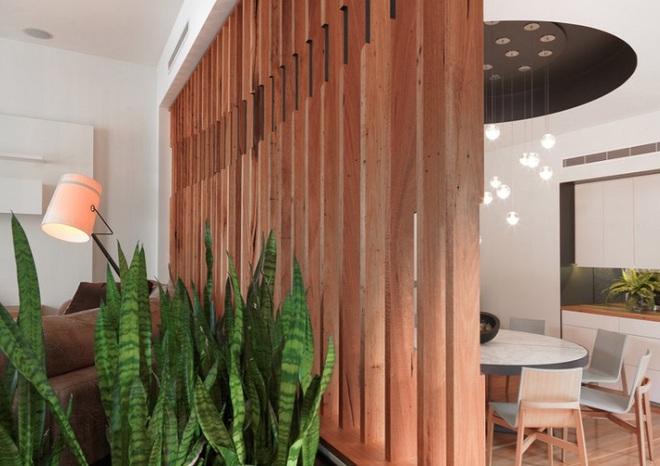 Sử dụng vách ngăn bằng đồ nội thất hoặc đồ trang trí đang là xu hướng mới để tạo không gian mở cho ngôi nhà - Ảnh 15.