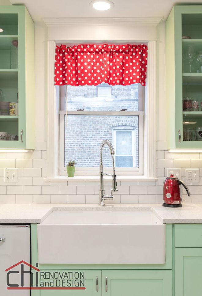 Người đàn ông cải tạo lại nhà bếp với màu xanh theo phong cách retro và cái kết khiến ai cũng bất ngờ - Ảnh 5.