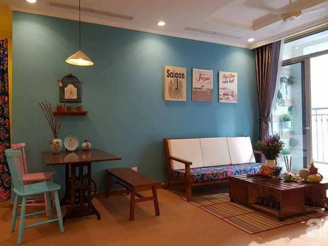 Căn hộ cổ điển vô cùng ấm áp mang phong cách Việt xưa giữa lòng Sài Gòn - Ảnh 3.