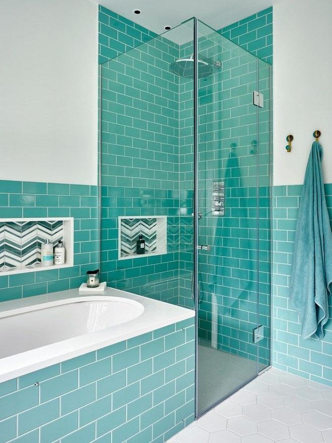 Chọn màu ngọc lam cho nhà tắm chính là xu hướng thiết kế mới nhất trong năm tới - Ảnh 4.