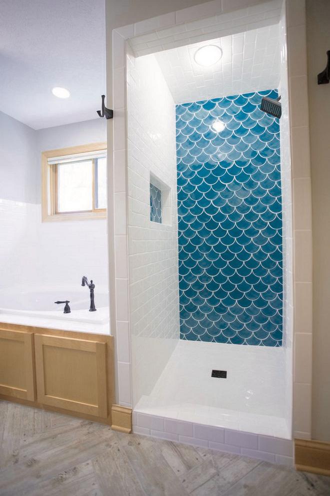 Chọn màu ngọc lam cho nhà tắm chính là xu hướng thiết kế mới nhất trong năm tới - Ảnh 9.